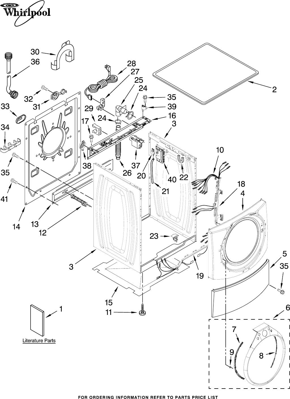 Whirlpool Wfw9500tc01 Users Manual W10158196a Wiring Schematics