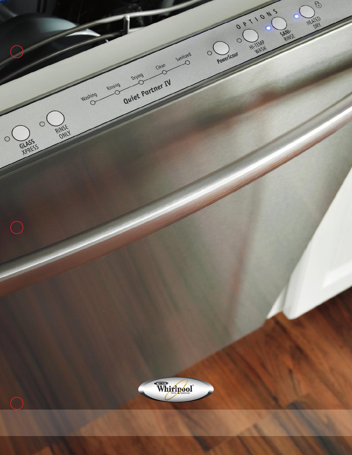 Whirlpool Dishwasher Gu2475Xtvy Users Manual WD090295 whirlpool dishwasher models UserManual.wiki