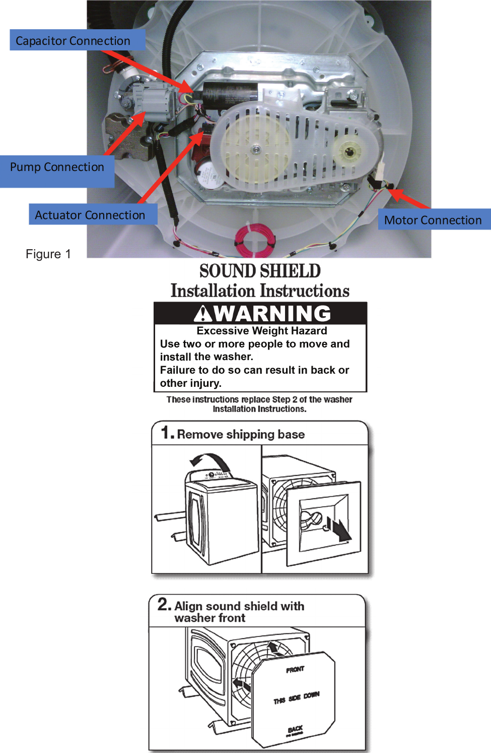 Whirlpool Washer Wtw5500 Users Manual Motor Wiring Diagram Page 2 Of 4