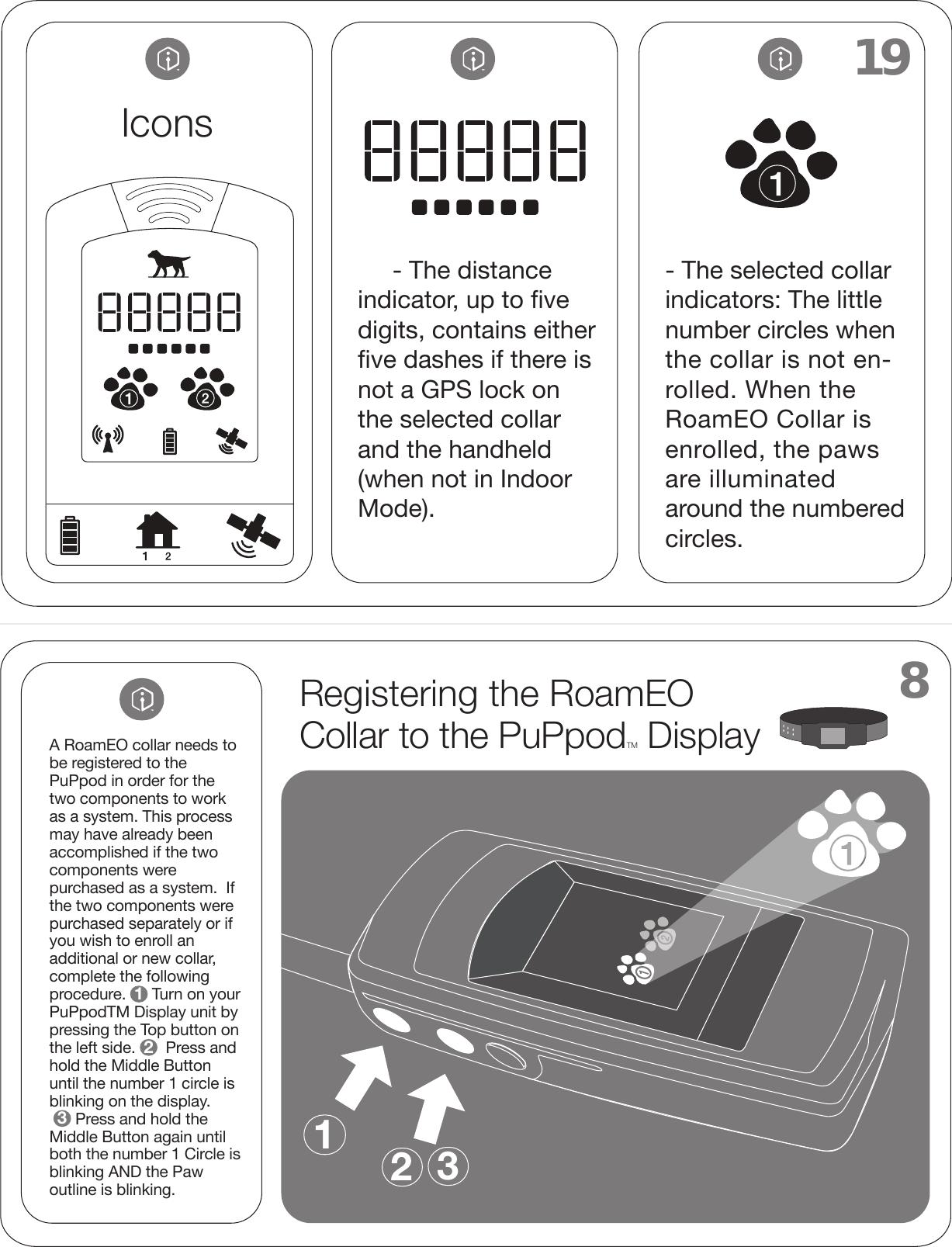 white bear technologies rpupv1 roameo puppod gps pet location system rh usermanual wiki Owner's Manual Instruction Manual Example