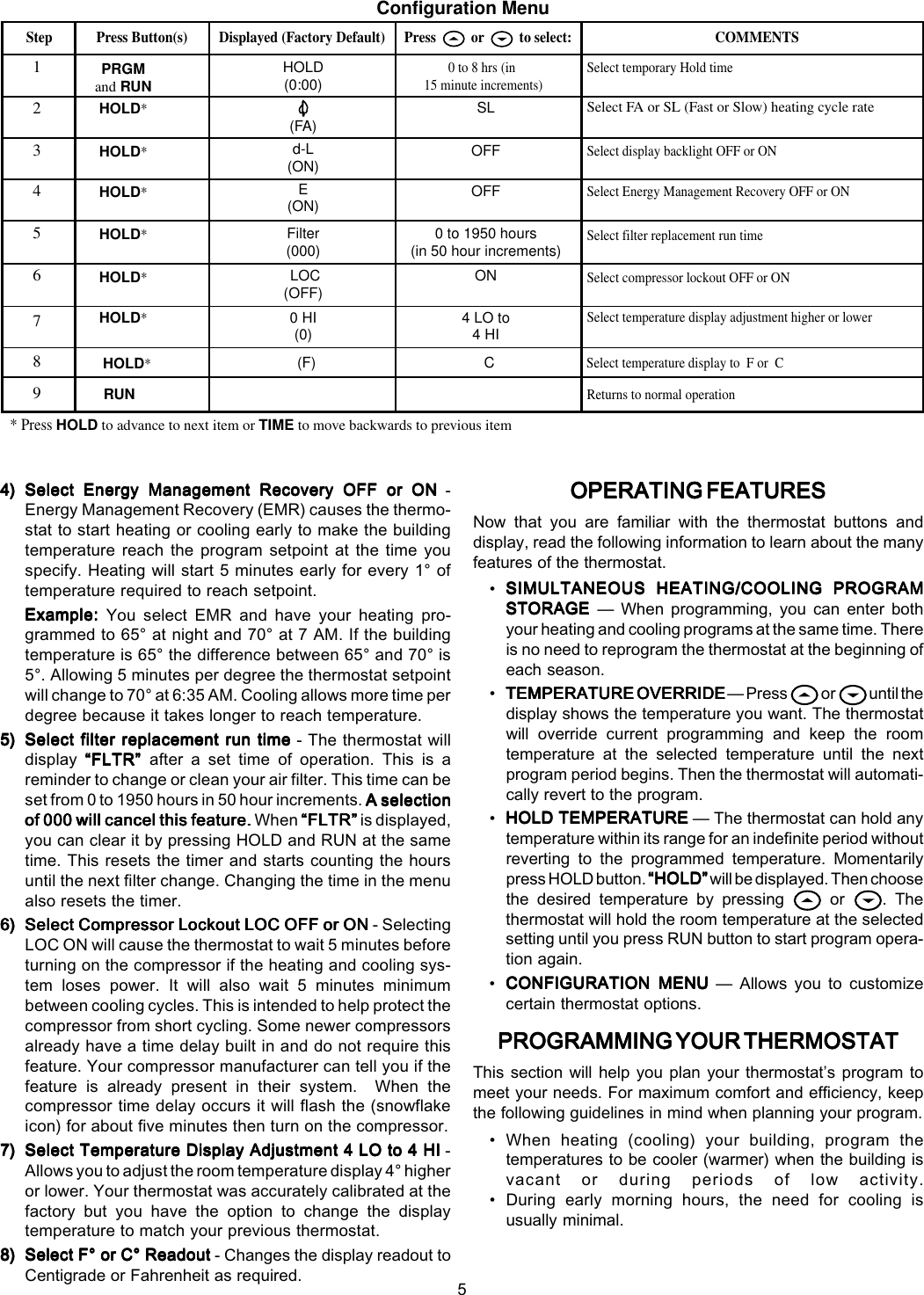 White Rodgers 1f80 261 Installation Manual 37 6288 Thermostat Wiring Diagram Page 5 Of 8