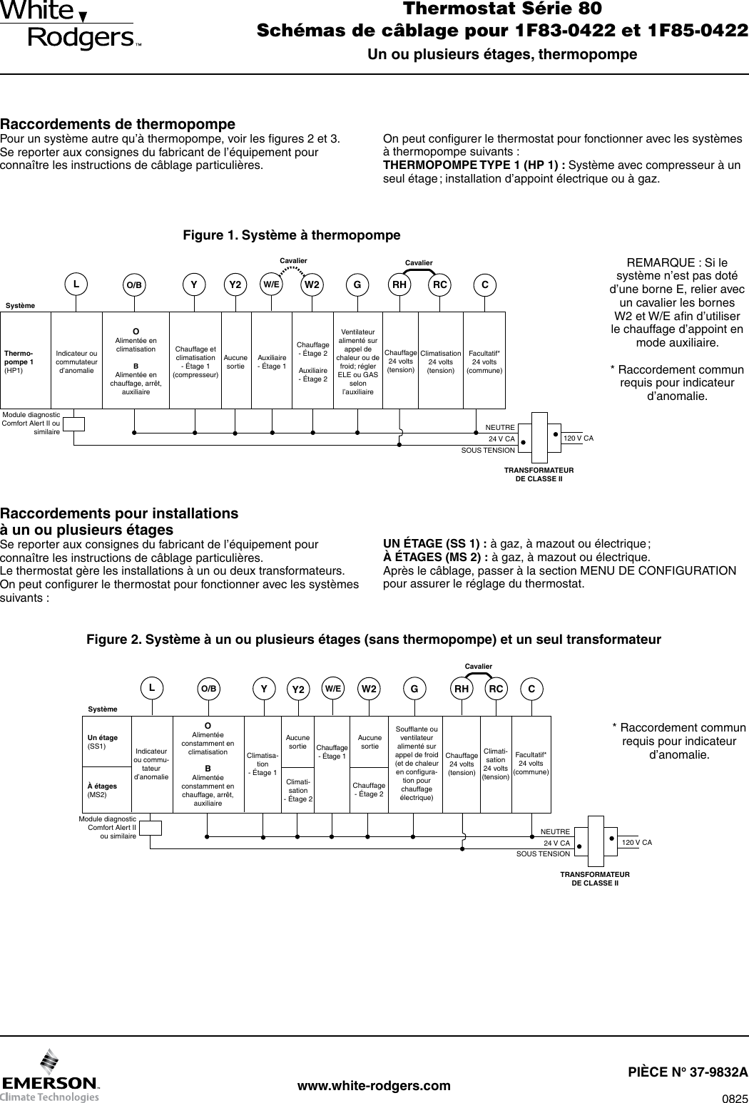 White Rodgers 1f85 0422 Emerson Blue 4 Programmable Thermostat Dico Wiring Diagram Page 3 Of