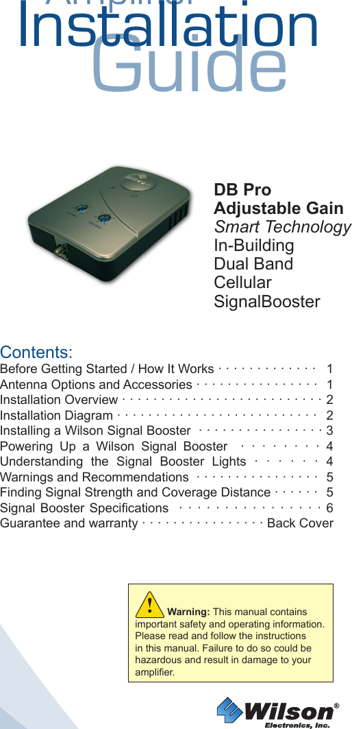 wilson electronics 271265 dual band wireless booster amplifier for rh usermanual wiki huawei cell phone user manual cell phone instruction manual