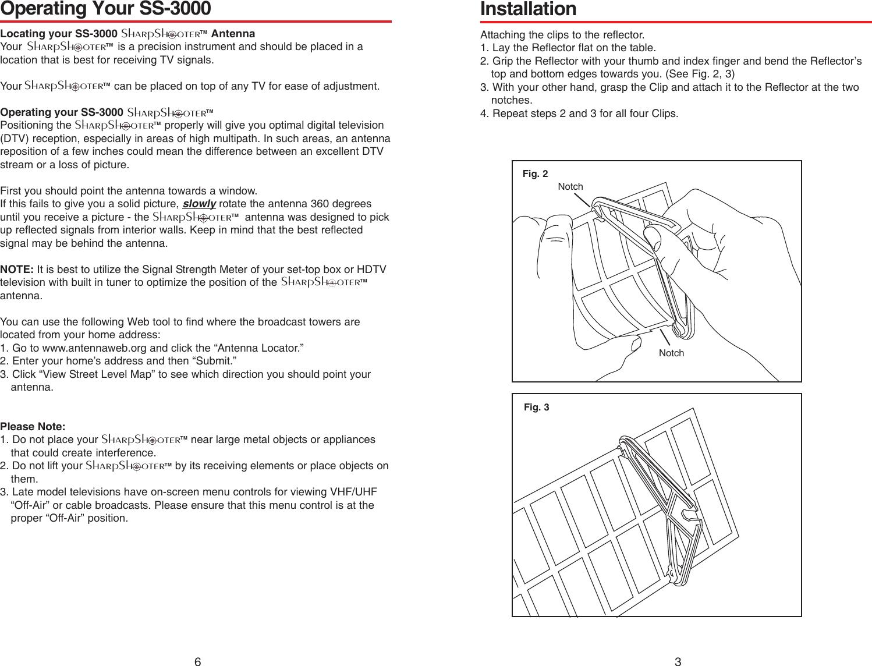 winegard sharpshooter ss 3000 users manual 2452064 rh usermanual wiki