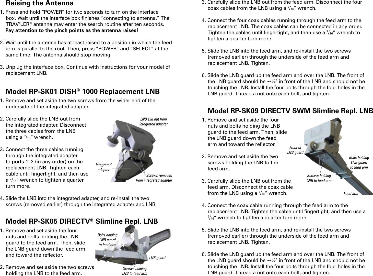 Winegard Tv Antenna Rp Sk01 Users Manual