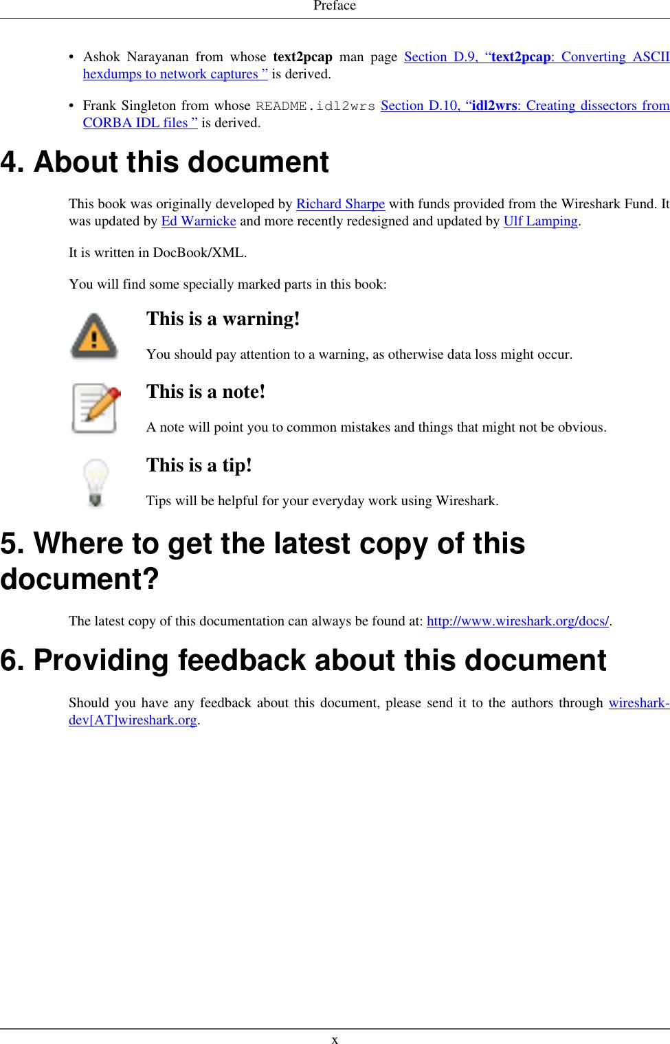 Wireshark 1 5 User Guide User's 36153 For 1 5
