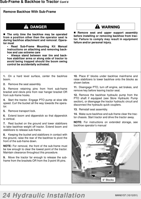 Woods Equipment Bh7500 Users Manual 1004327 SFMK