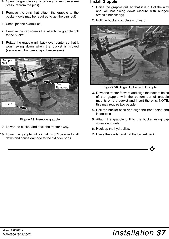 Woods Equipment Loaders Lf138 Users Manual MAN0556