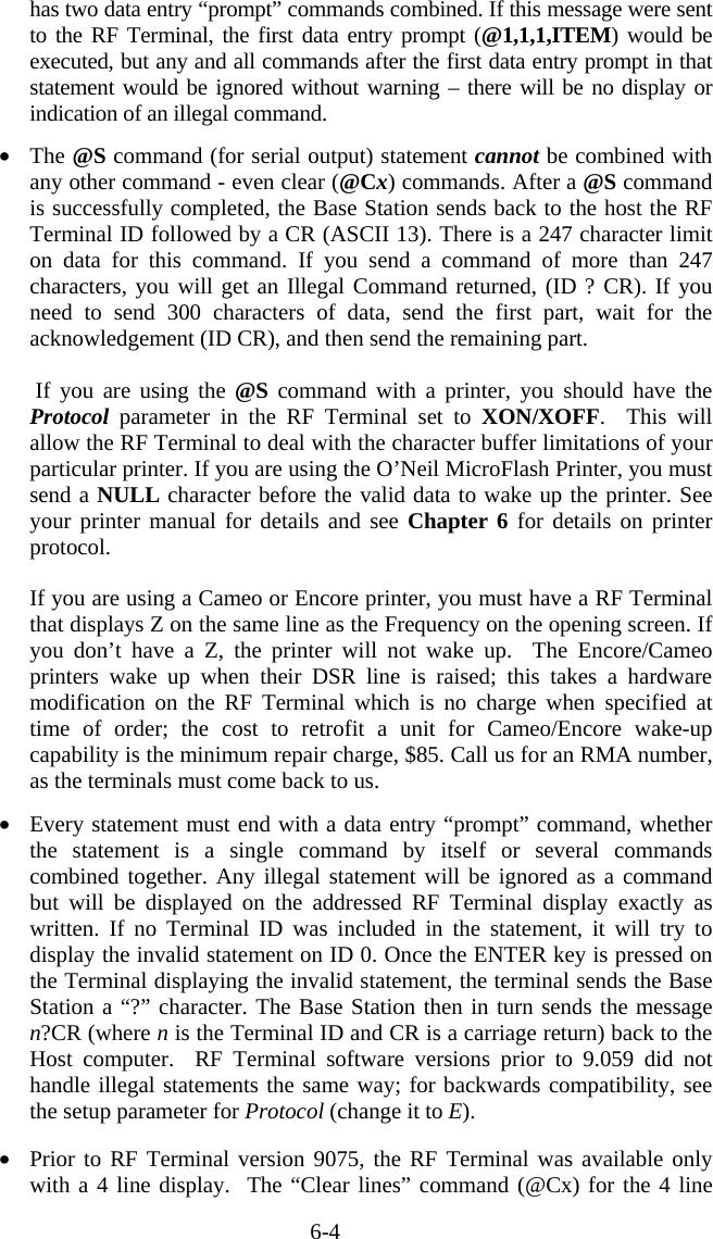 Worthdata B551 RF BaseStation User Manual