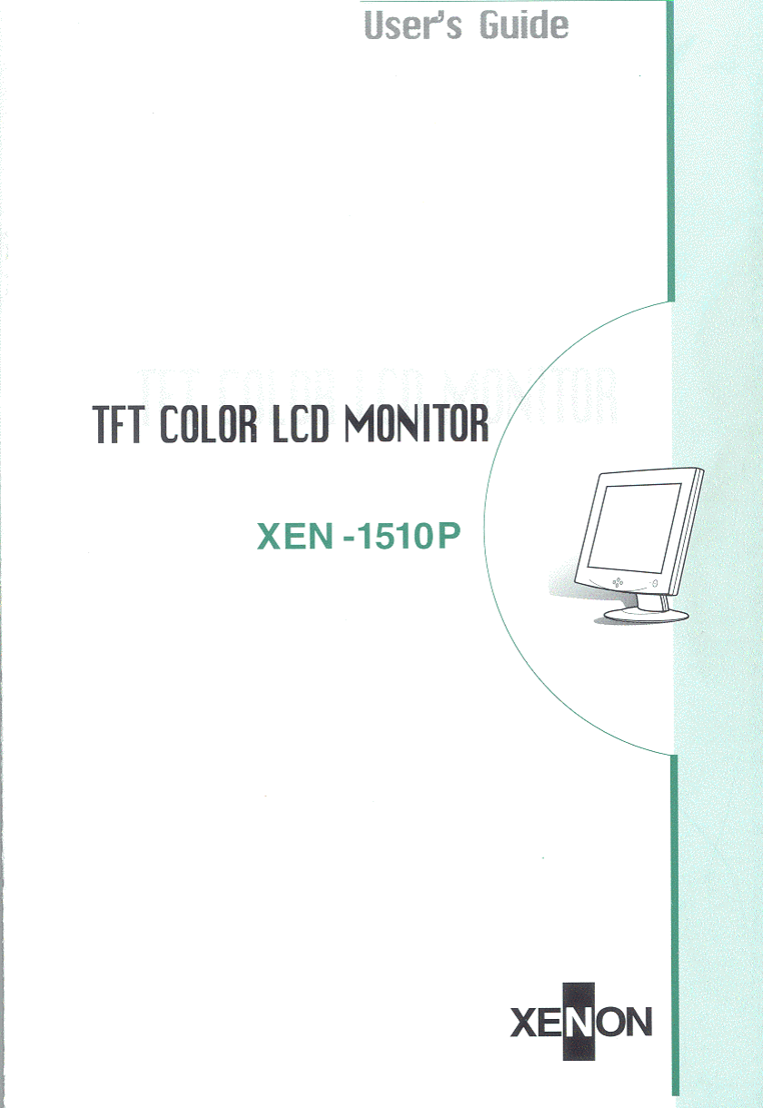 xenon telecommunications xen 1510p tft lcd monitor user manual users rh usermanual wiki car back-view tft lcd monitor user's manual 7 tft lcd monitor user manual