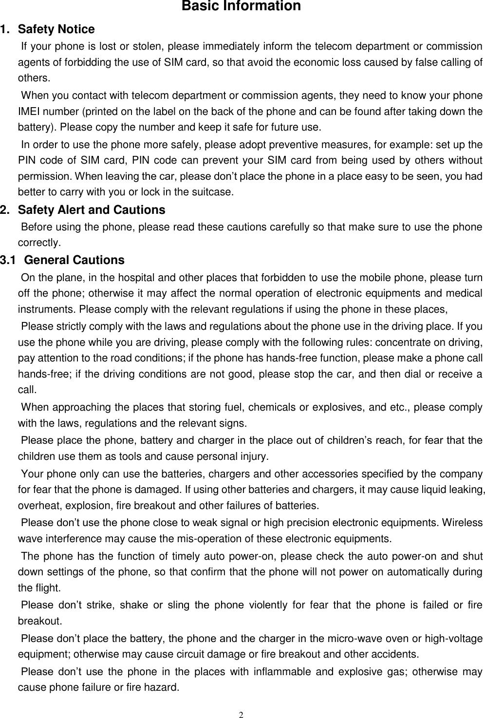 XTR C X4 Smartphone User Manual