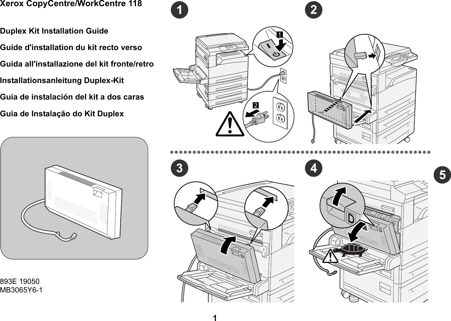 Xerox Copycentre C118 инструкция