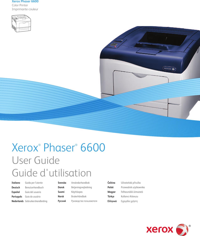 Xerox Workcentre 5632 Users manual