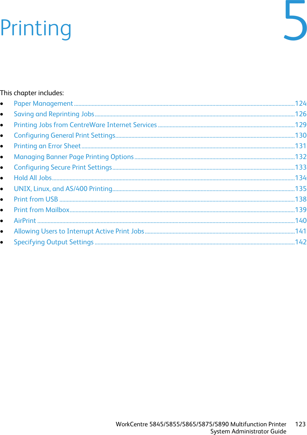 Xerox Workcentre 5845 5855 Administrators Guide 5845/5855