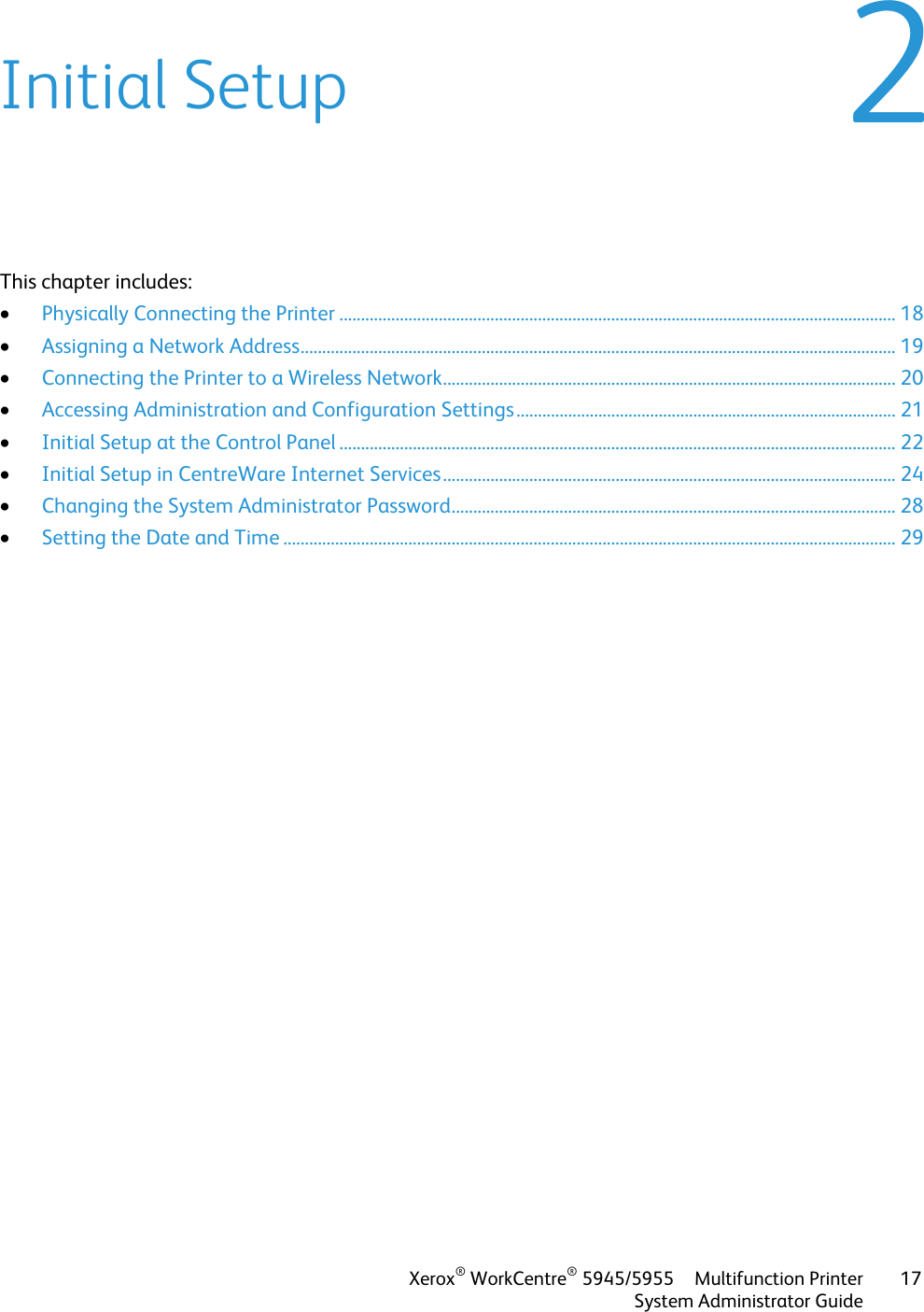 Xerox Workcentre 5945 5955 Administrators Guide Xerox