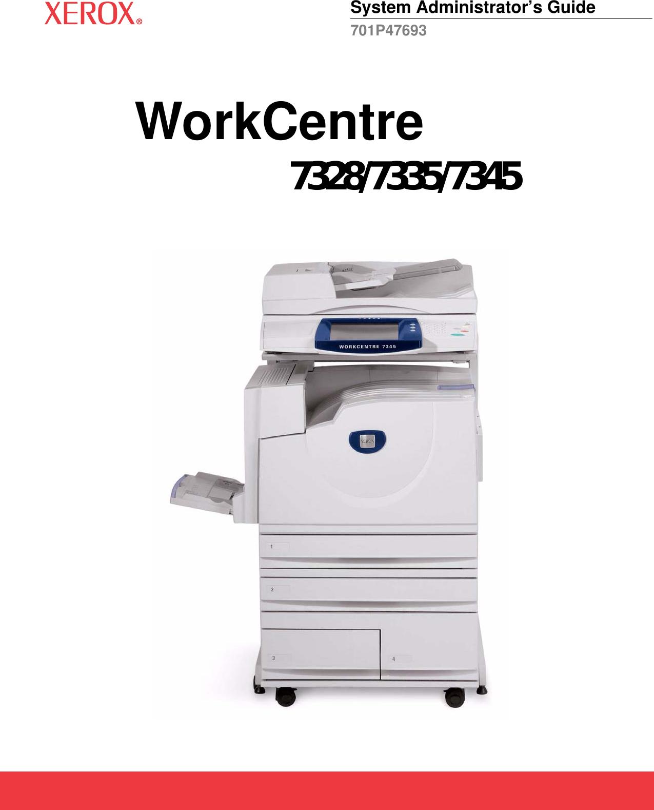 xerox workcentre 7345 error code manual