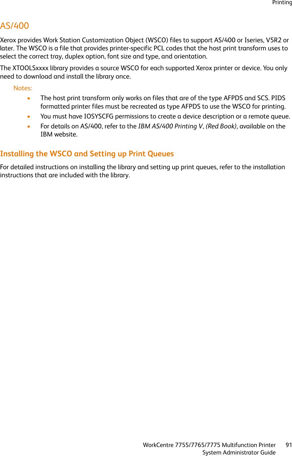 Xerox Workcentre 7765 Users Manual 7755/7765/7775