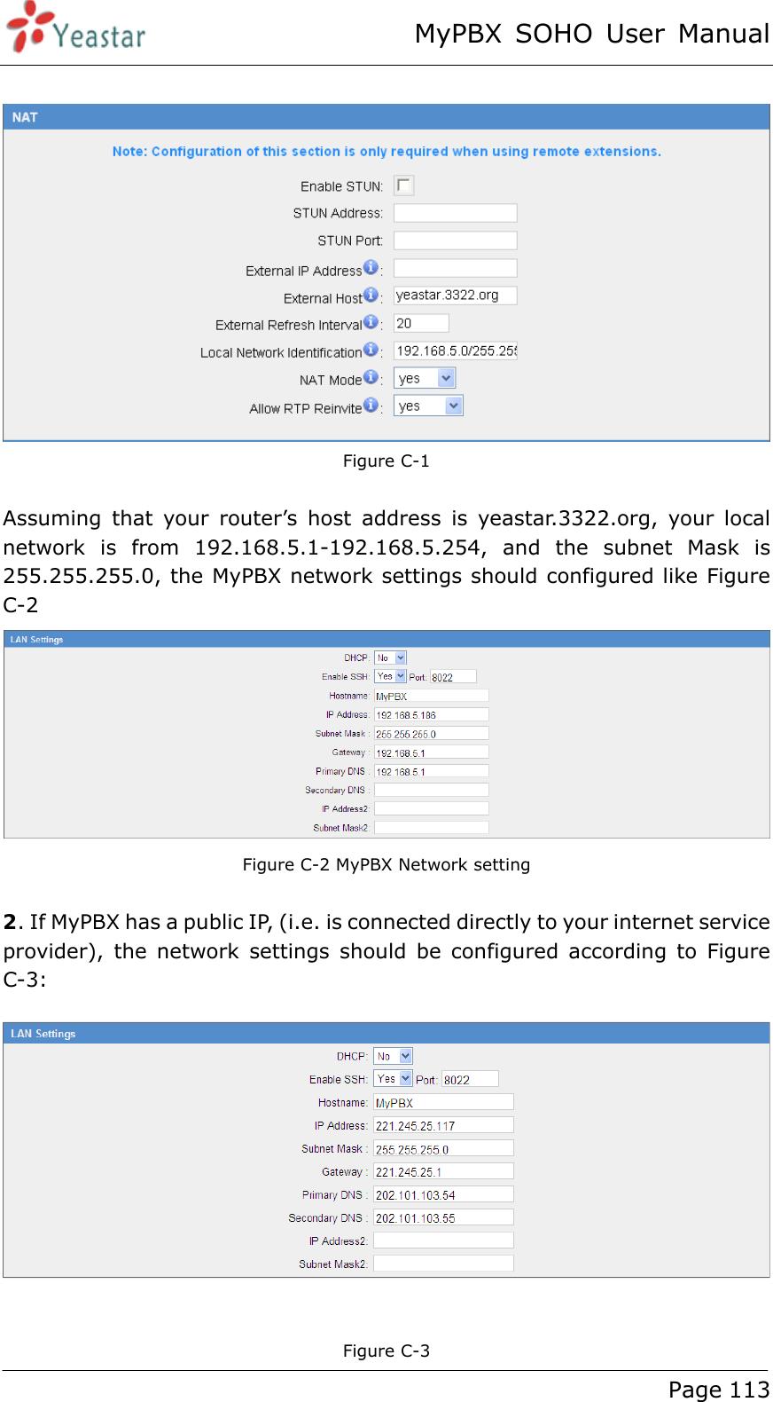 Xiamen Yeastar Information Technology SOHO IP PBX User Manual MyPBX