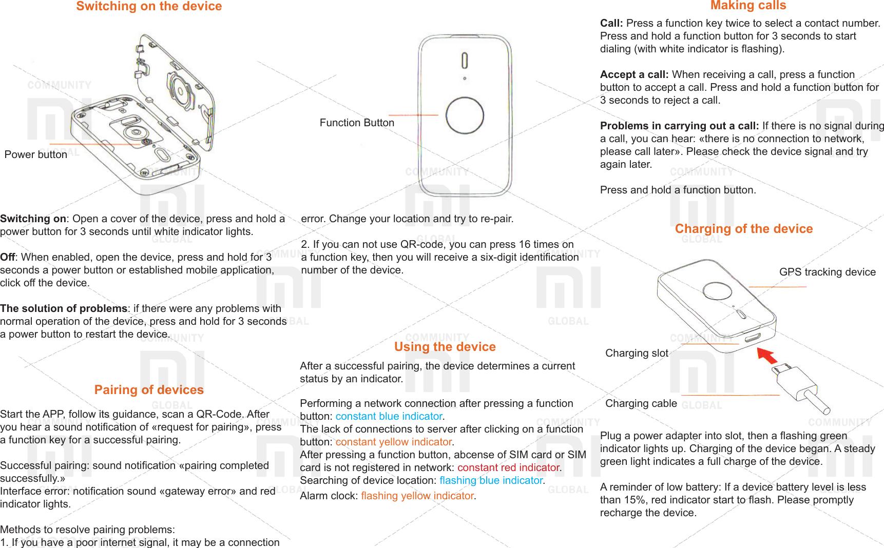 Xiaomi GPS Tracker MITU EN
