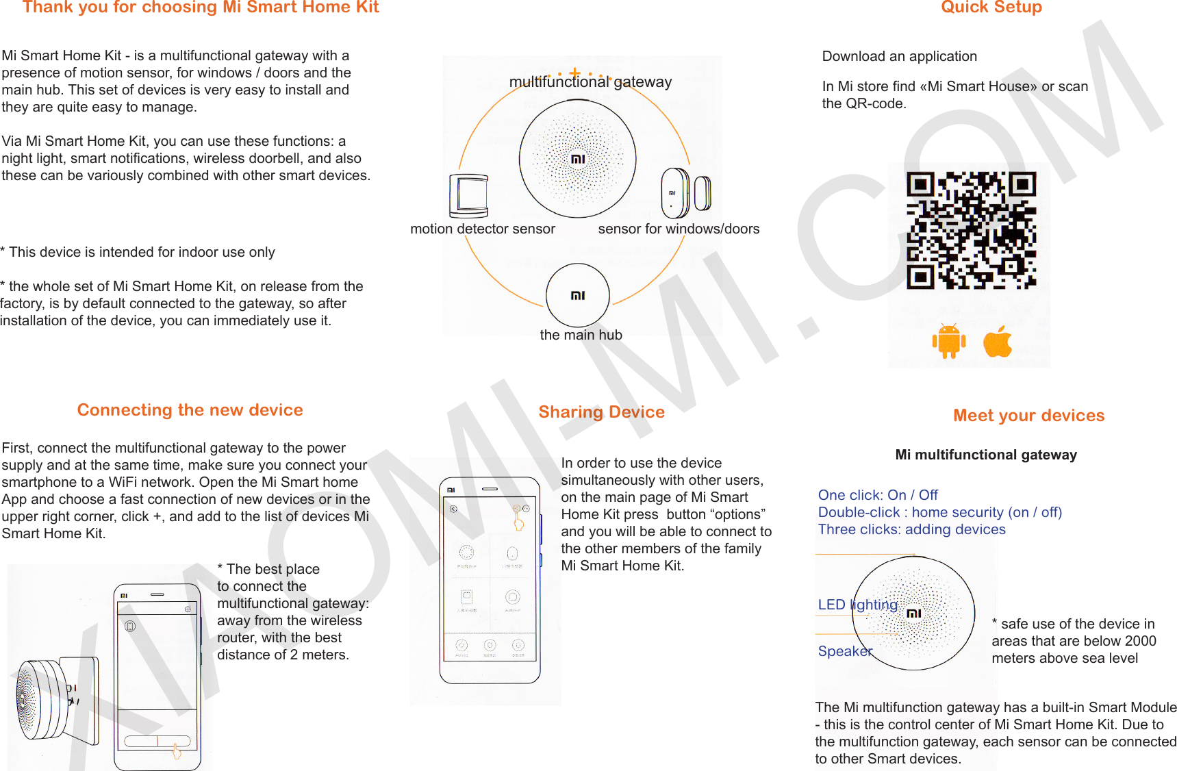 Xiaomi Mi Home Smart Kit EN