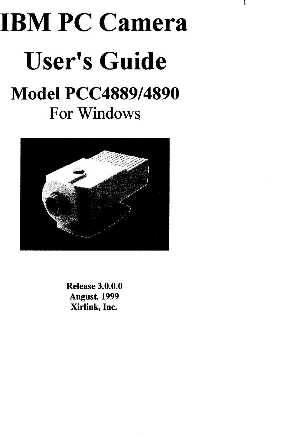 XIRLINK IBM PC CAMERA DESCARGAR CONTROLADOR