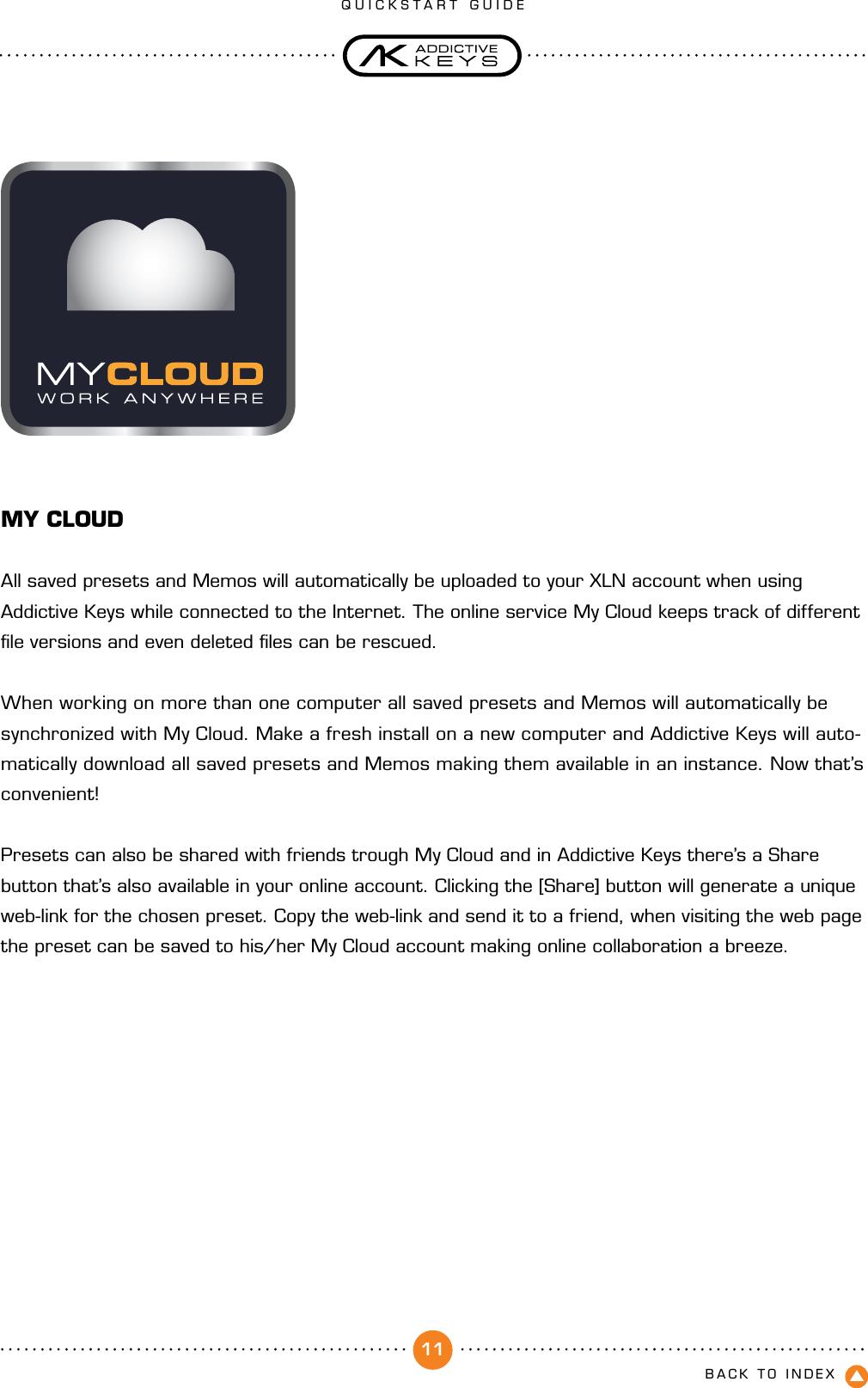 Xln Audio Addictive Keys Quickstart Guide User Manual