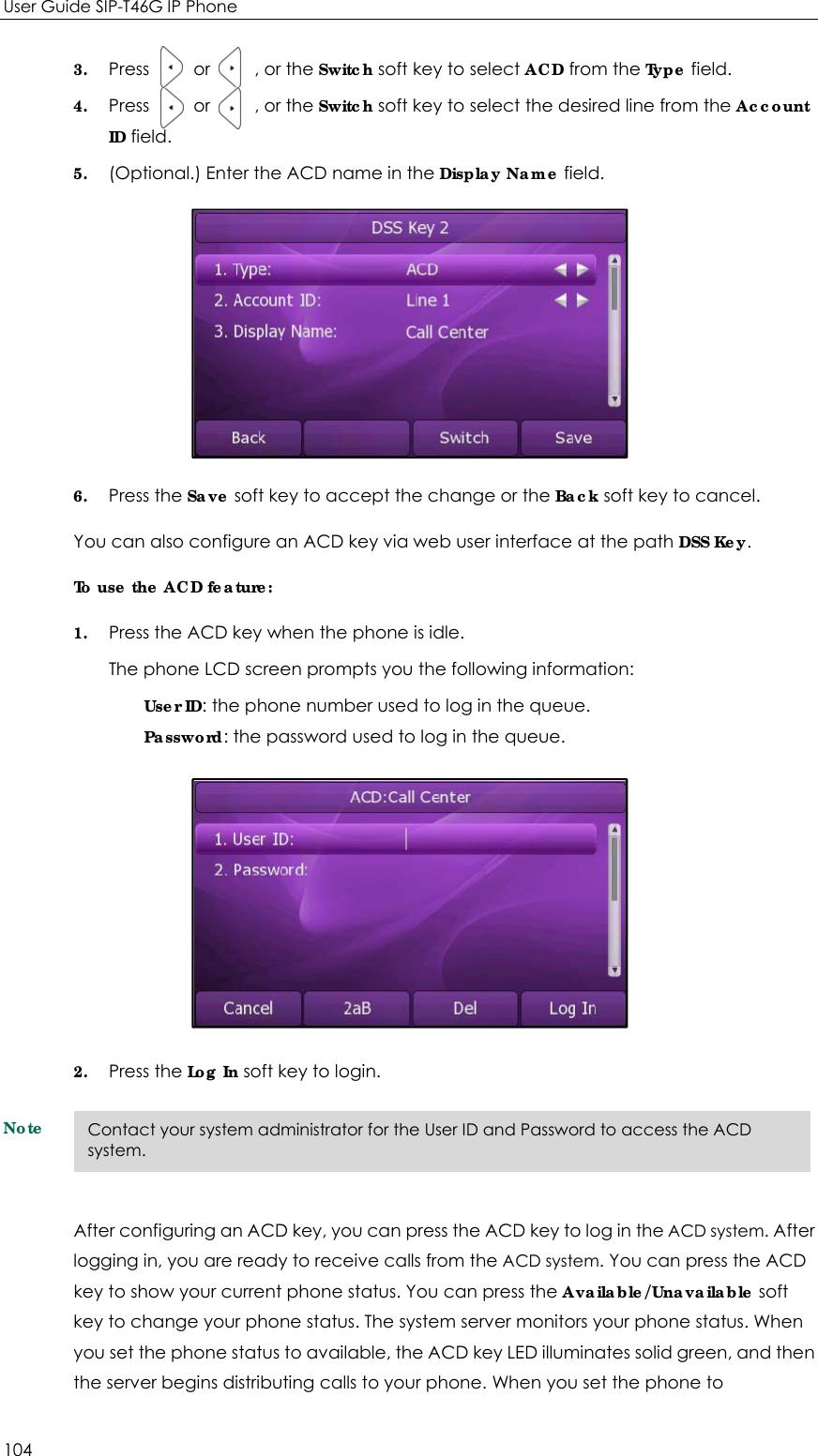 YEALINK T46G IP Phone User Manual SIP T46G 1 User Guide V70x