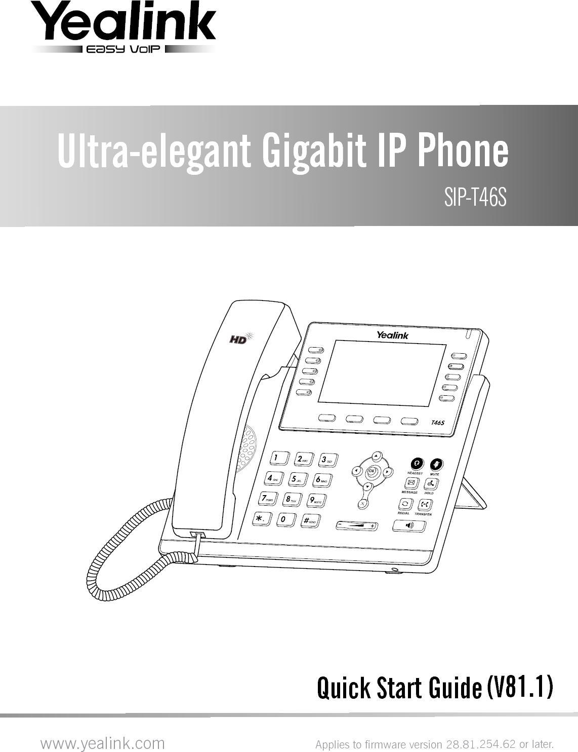 Ip Phone Yealink Ip Phone Manual Manual Guide