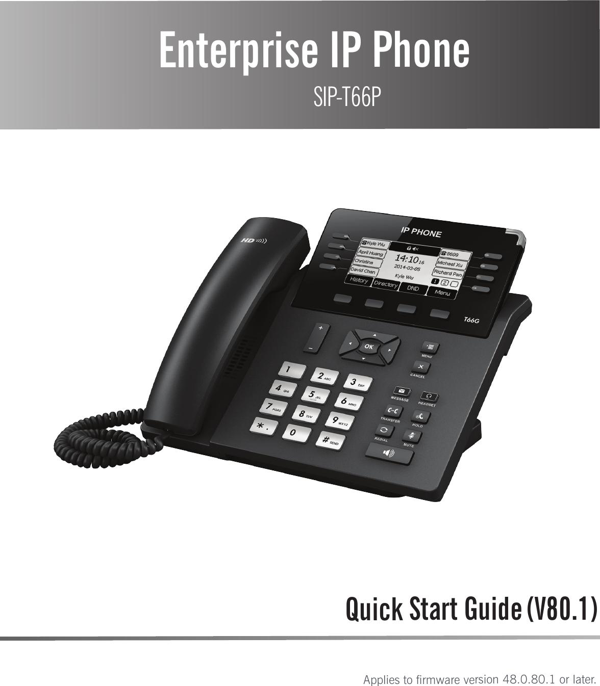 yealink phone user manual