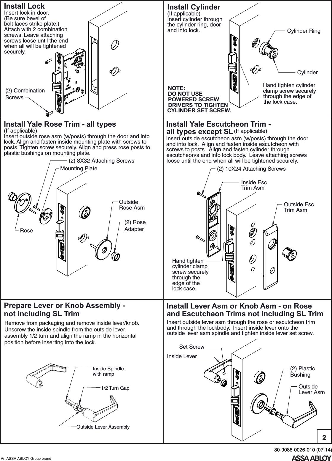 Patent Us6393878 Mortise Lock Manual Guide