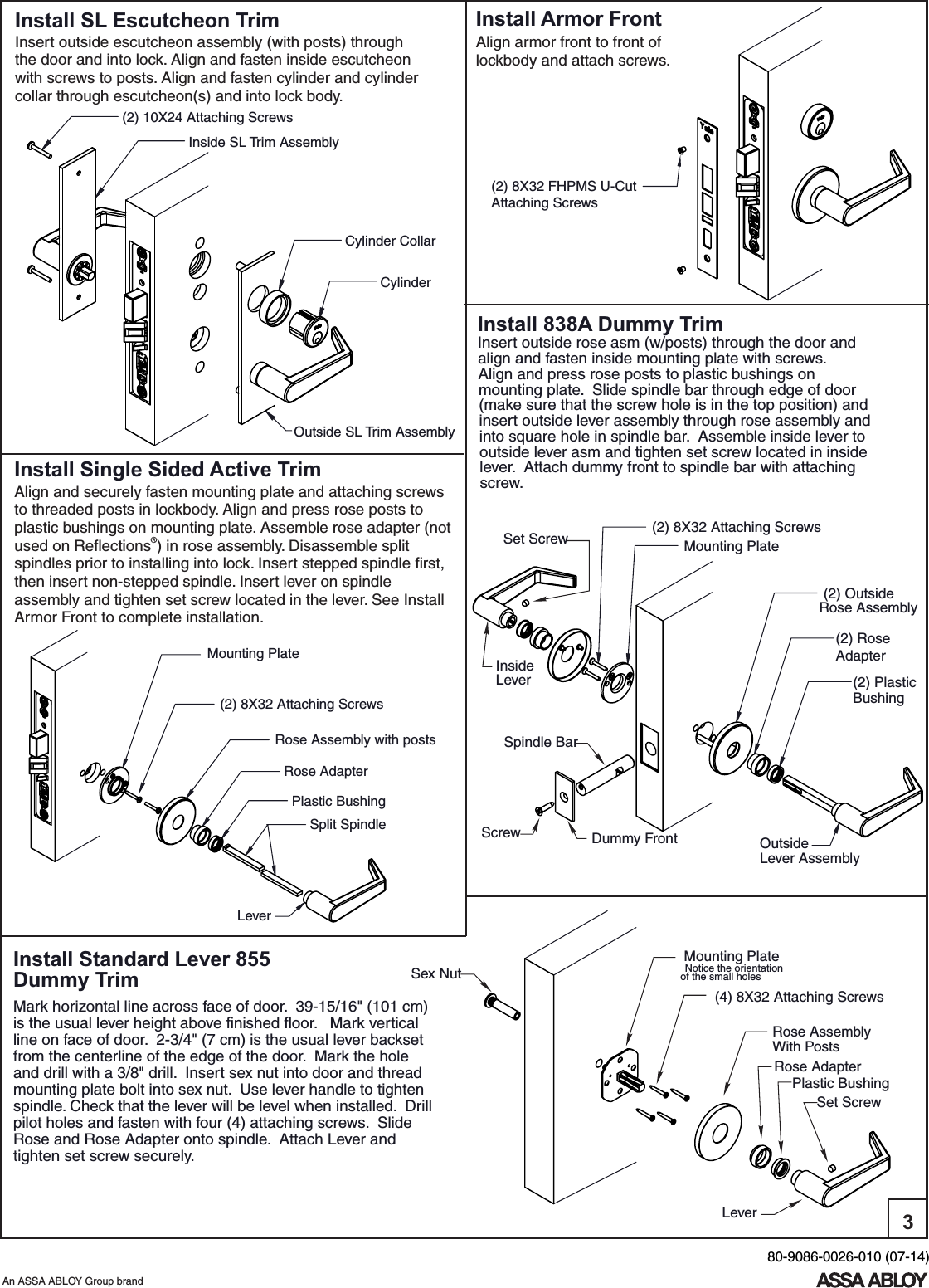 How To Rehand Mortise Lockset Manual Guide