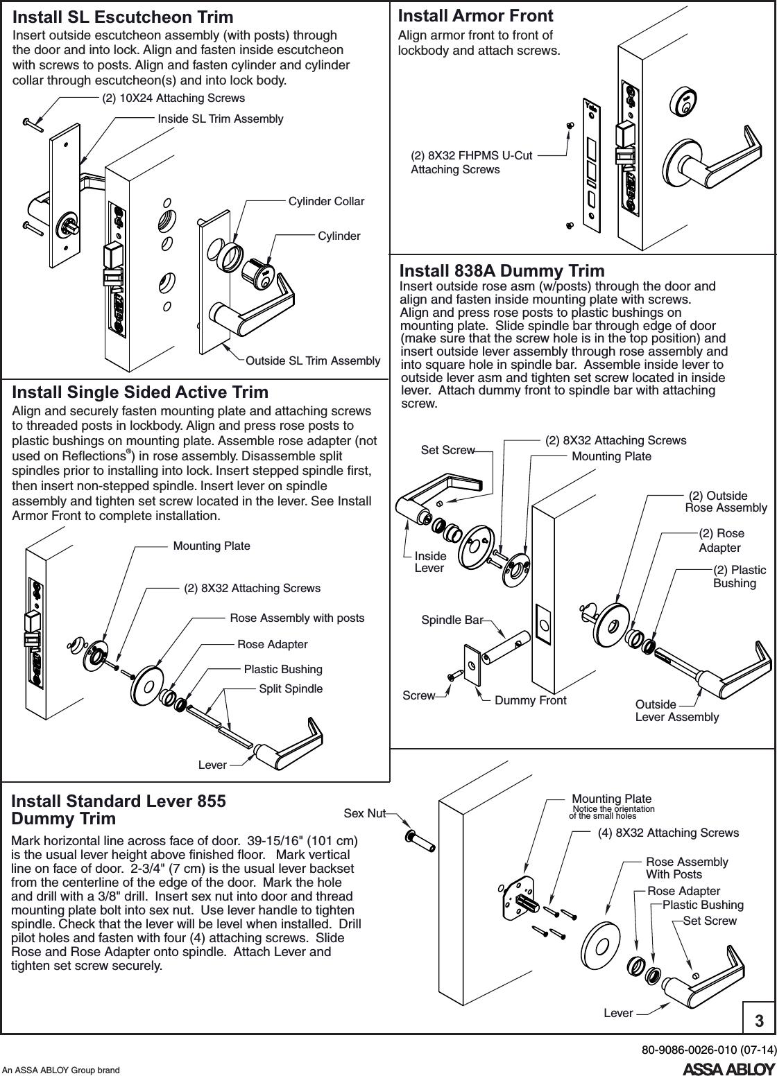 Servicing And Retrofitting Mortise Locks Manual Guide
