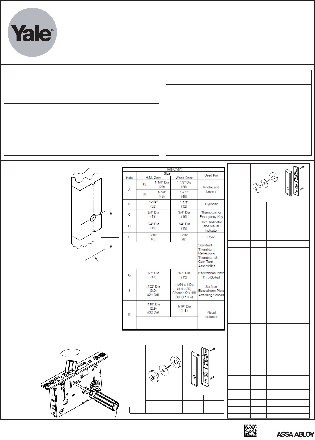 Yale Rocker Switch Wiring Diagram Electrical Diagrams 8800 Series Mortise Lock Installation Instructions 80 9086 0026 Led