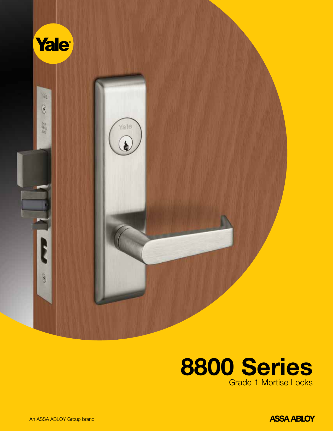Yale 8800 Series Mortise Lock Catalog Yale8800seriescatalog