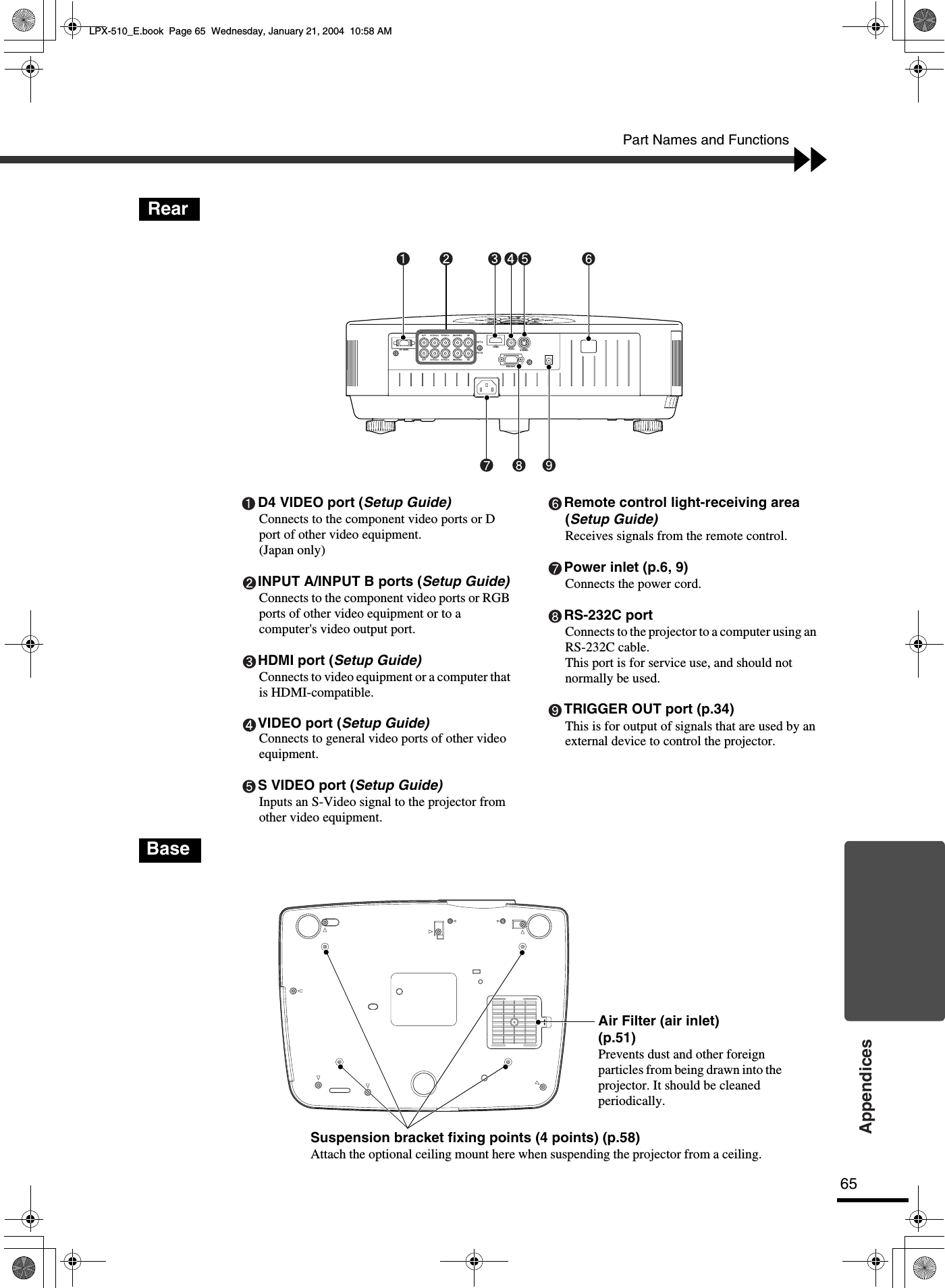 Yamaha LPX 510_E 510 Owners Manual 01 Om