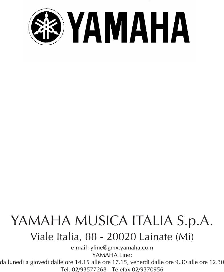Yamaha 1 SM_02R96_ETOC. ITA GUS F6 Fm 01V96 Version 2 Editor ...