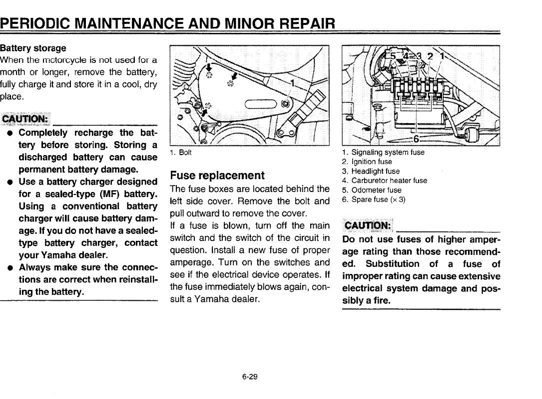 Yamaha Bolt Fuse Box Electrical Wiring Diagrams Road Star Diagram 2000 Silverado Owners Manual Control