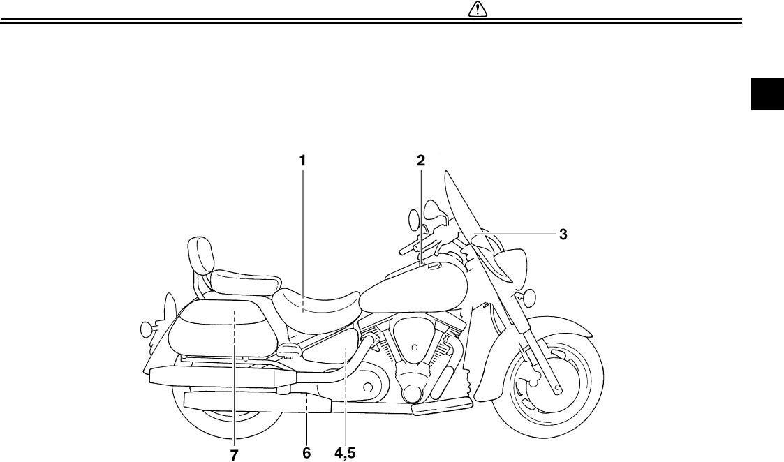 Yamaha 2008 Road Star Silverado Owners Manual Xv17awxc Xv17asxc