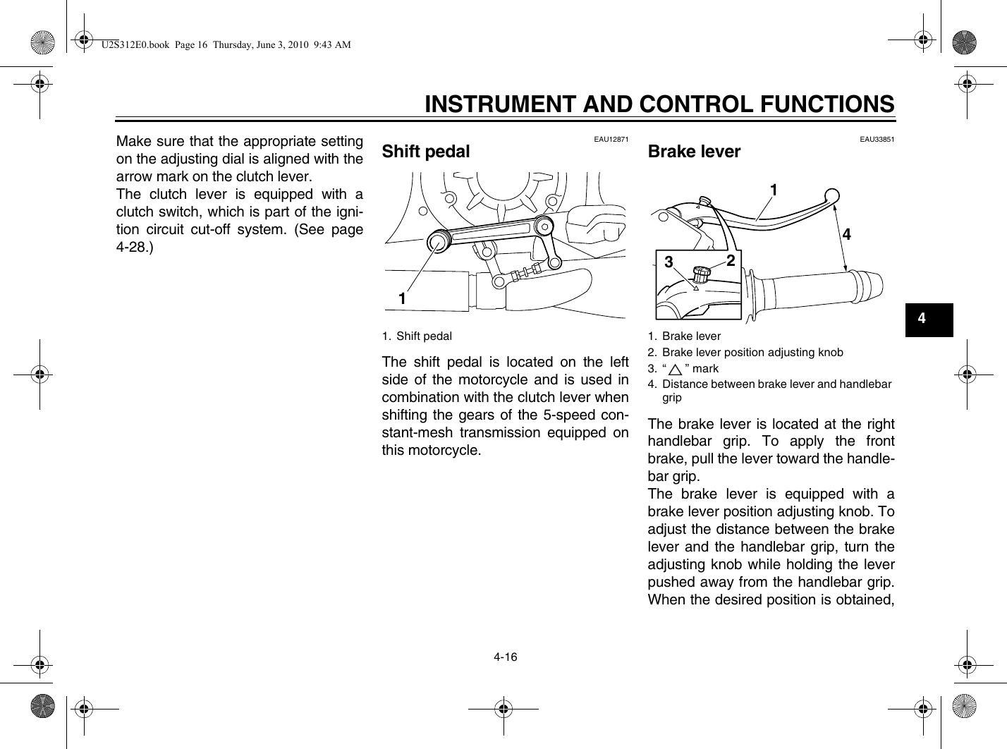 Yamaha 2011 Vmax Owners Manual