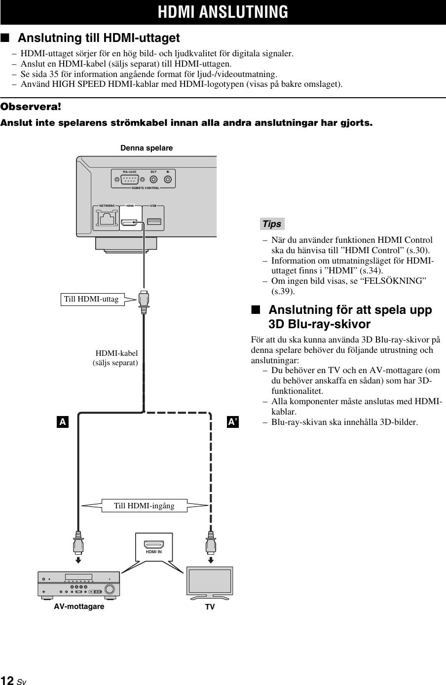Yamaha Bd A1010 Users Manual