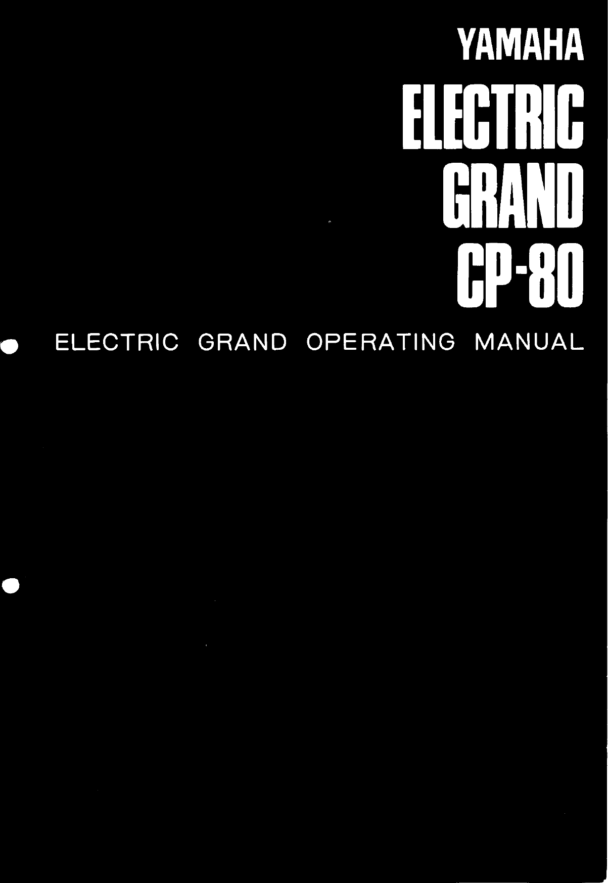 yamaha cp 80 owner s manual image cp80e rh usermanual wiki yamaha cp 80 manual Yamaha Electric Grand Piano