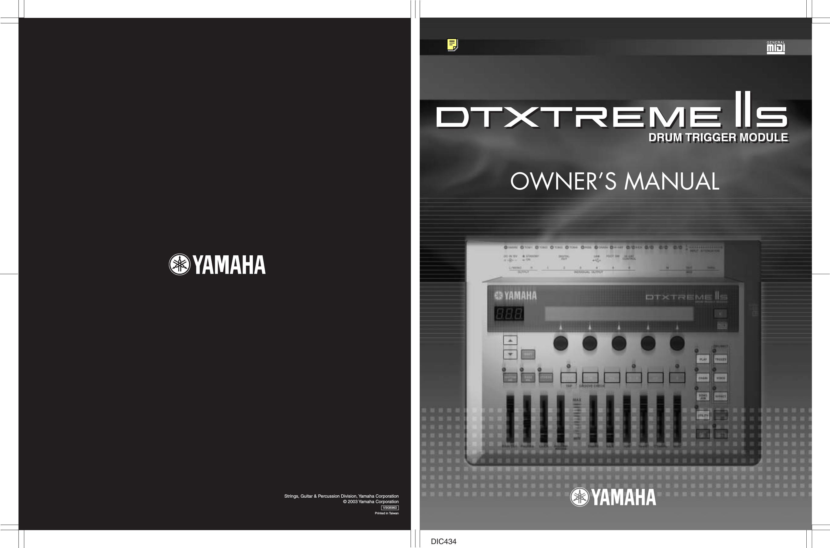 YAMAHA DTXTREME IIS PCY150S 3 ZONE RIDE CYMBAL pcy-150s