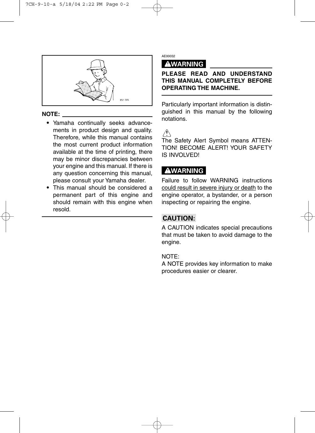 Yamaha Ef3000Ise Ef3000Iseb Owners Manual EF3000iSE/B Owner's on