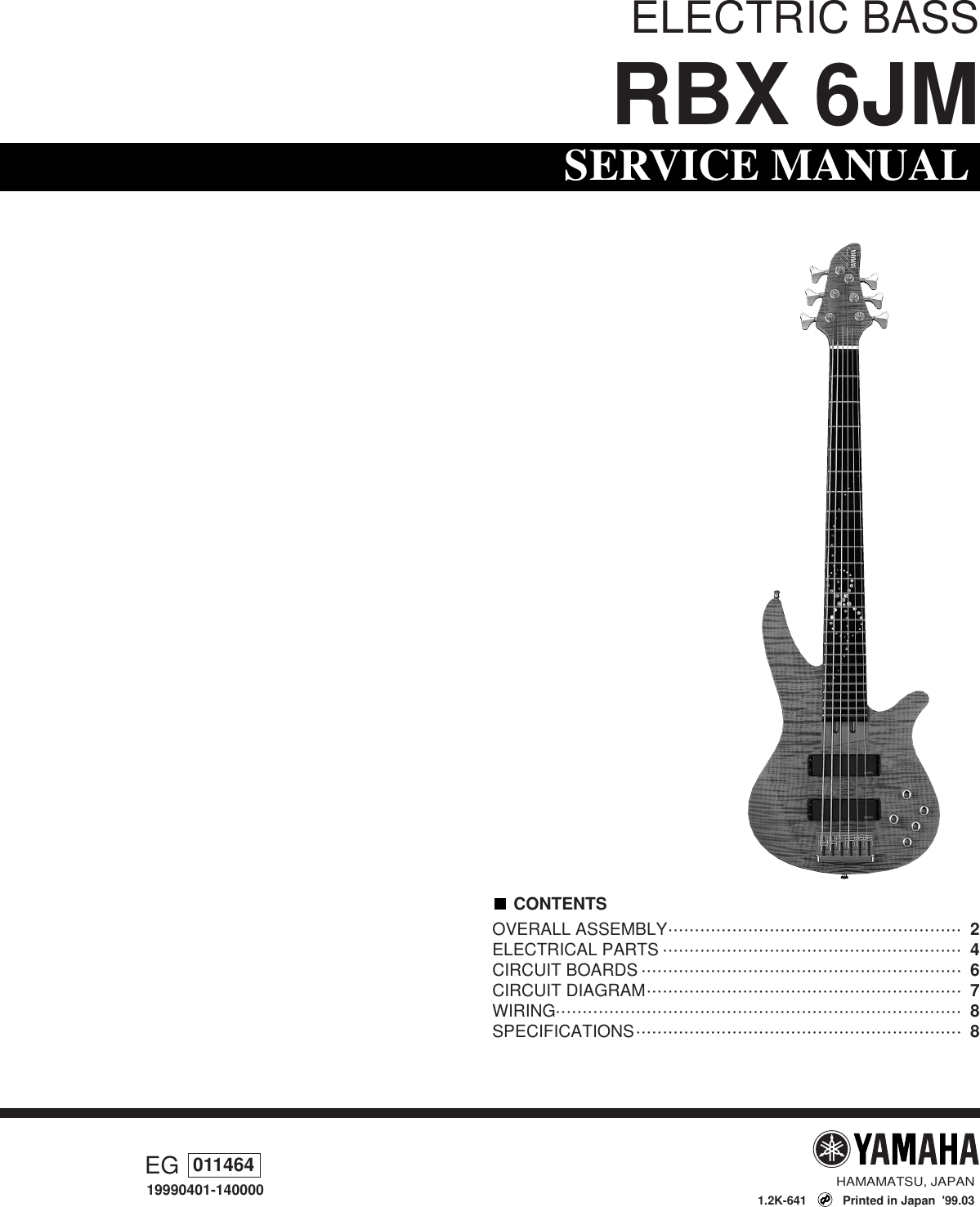 Comfortable Yamaha Bass Rbx 70 Wiring Diagram Schematic Photos ...