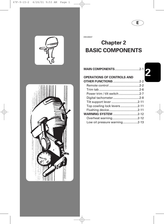 Yamaha F100A Owners Manual F80A,