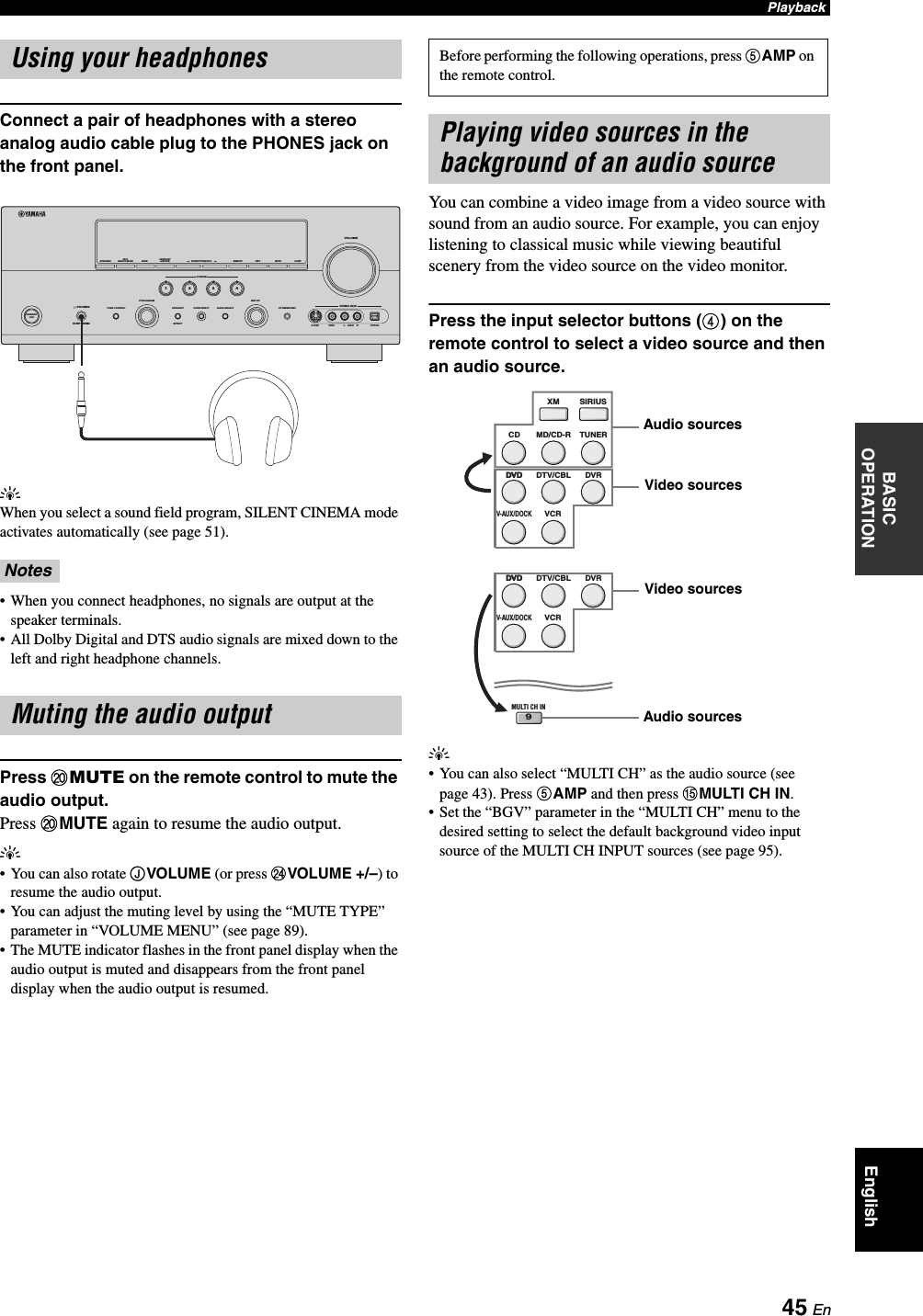 Yamaha HTR 6160 Owner's Manual U