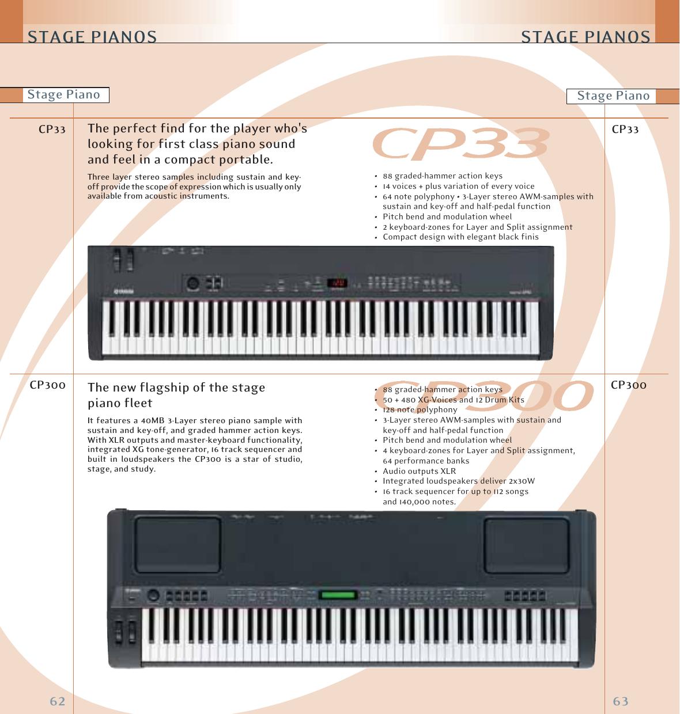 Yamaha Keyboards And Digital Pianos Owners Manual BPL EMI 07 E