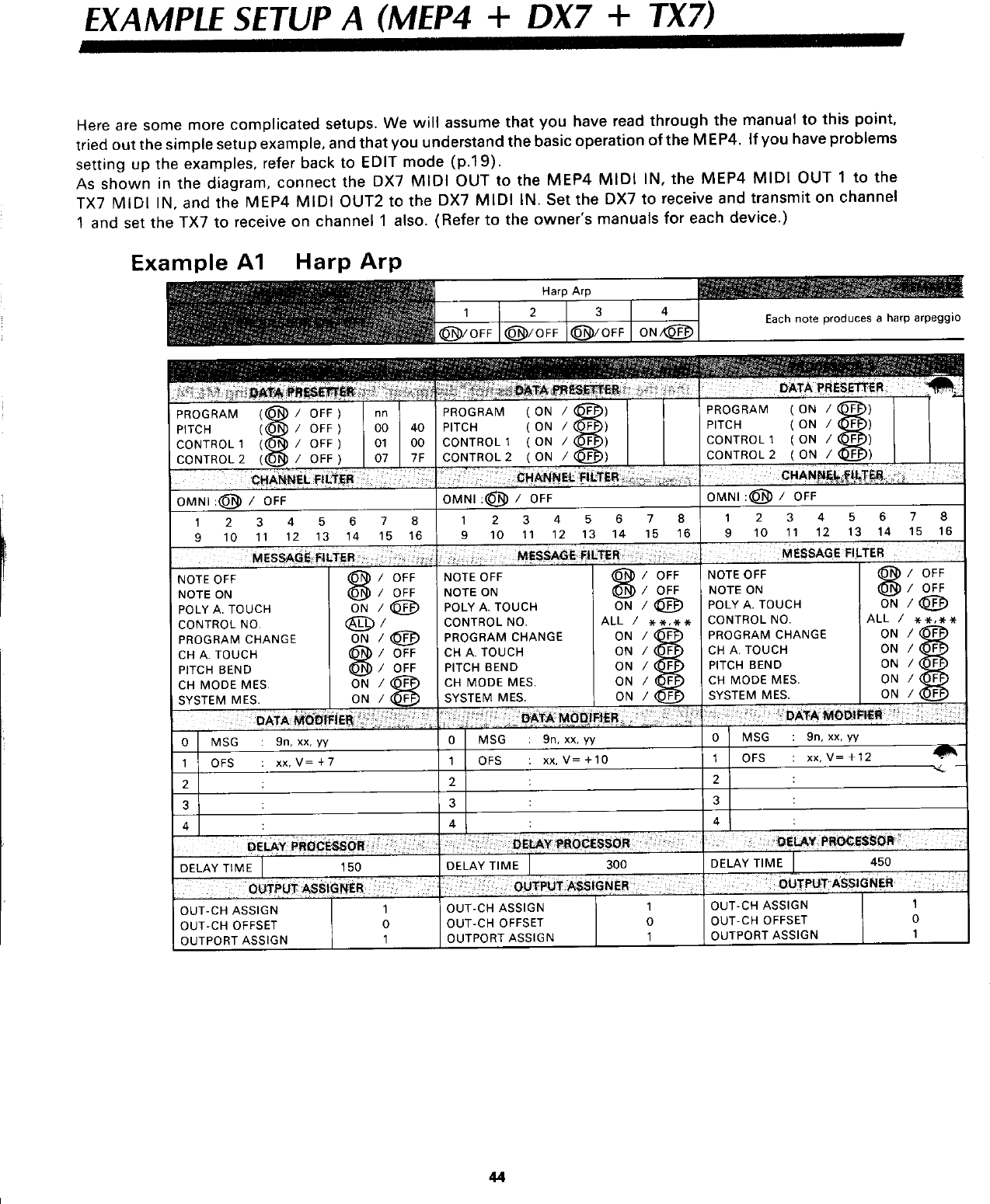 Yamaha MEP4 Owner's Manual (Image) MEP4E