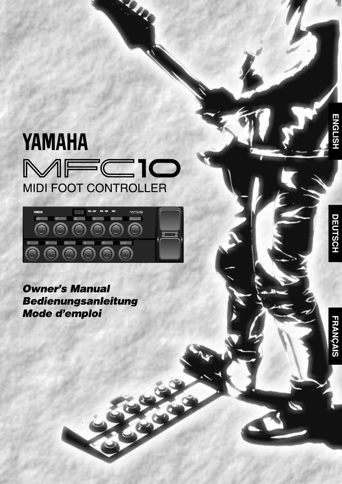 Yamaha Mfc 10 Owners Manual G