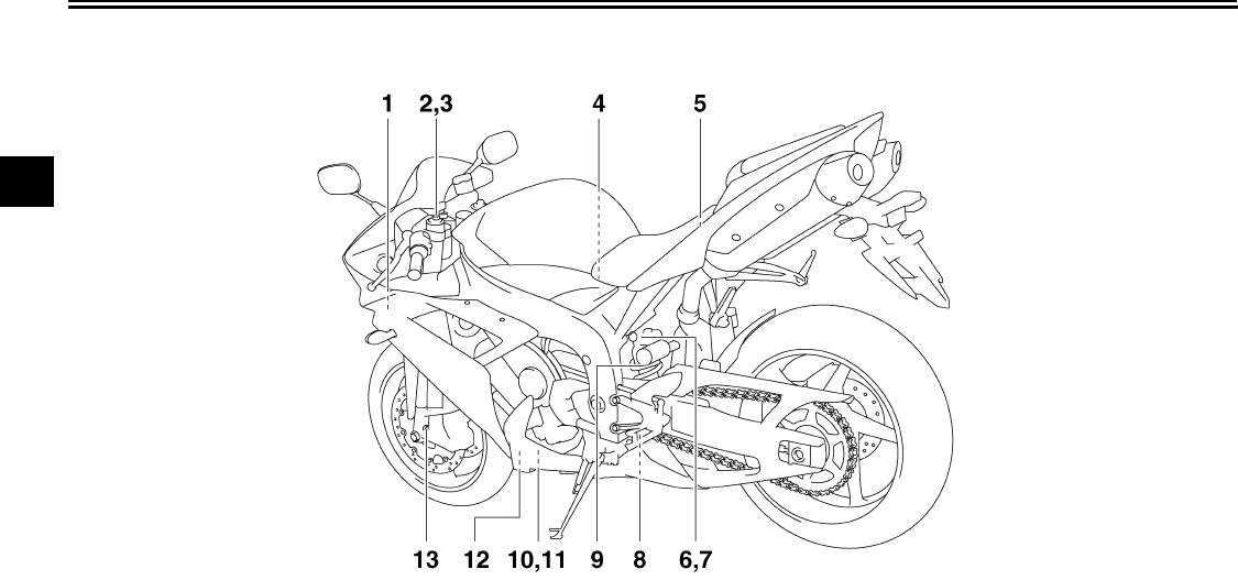 Yamaha Motorcycle 4c8 28199 10 Users Manual R1 Owners Yzfr1wc